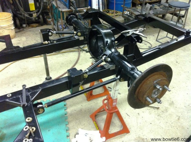 Tr6 Differential And Rear Suspension