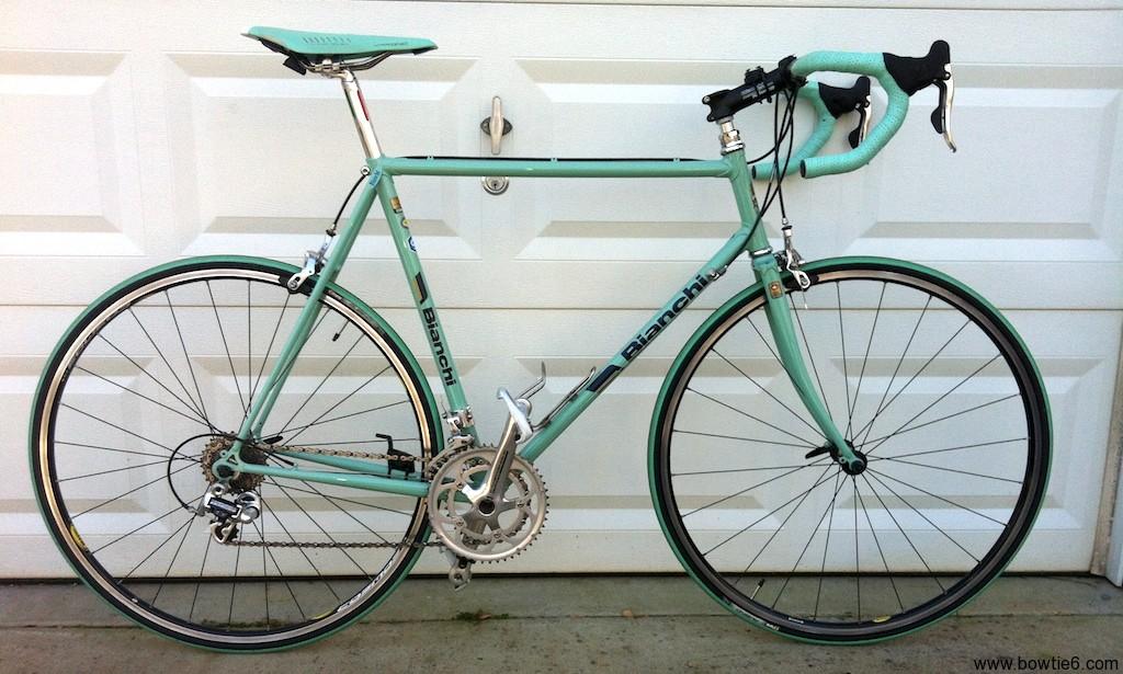 Restoring A Vintage Bianchi Road Bike The Details The